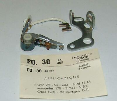 Contacts Points Contacts Pins Mercedes BMW Opel Ford Volkswagen FO30