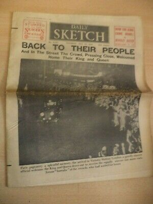 daily sketch OLD VINTAGE ORIG NEWSPAPER 23 july 1938 1930S ww1 war memorial aust