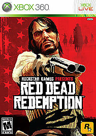 Red Dead Redemption Rock Star (Microsoft Xbox 360, 2010)used complete