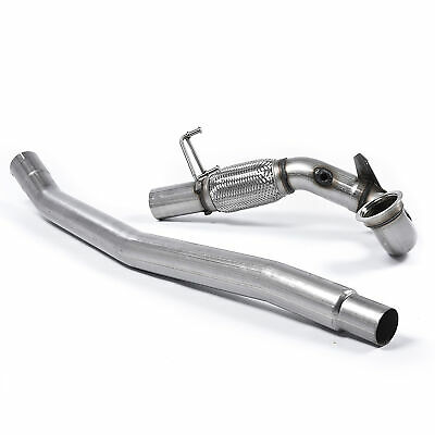 Milltek 3 Inch Large Bore Downpipe And De Cat For VW Golf Mk7 R - SSXVW348