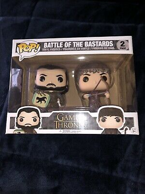 Funko Pop game of thrones battle Of The Bastards GOT 2pack