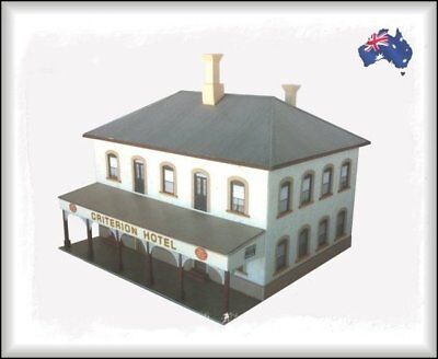 HO Scale Australian CLASSIC AUSTRALIAN TOWN and COUNTRY HOTEL