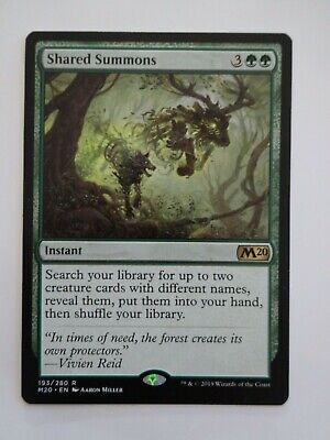 MTG Shared Summons Core Set 2020 NM