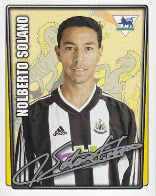 Merlin - Premier League 2001-2002 - Nolberto Solano - Newcastle United - # 341