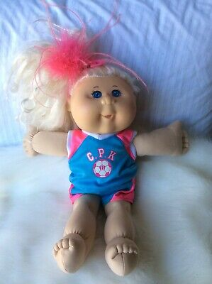 Cabbage Patch Girl With Blonde  Hair