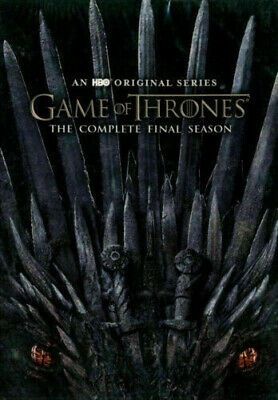 Game 0F of Thrones:The Complete 8 Season (DVD, 2019, 3-Disc Set)
