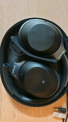 Sony WH-1000XM2 Noise Cancelling Wireless Headphones - Black