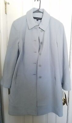 Brand New With Tags Baby Blue Fleet Street Wool Peacoat size M