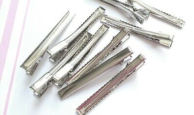 46mm alligator clip blank for hair bows, craft supplies, hair finding blanks