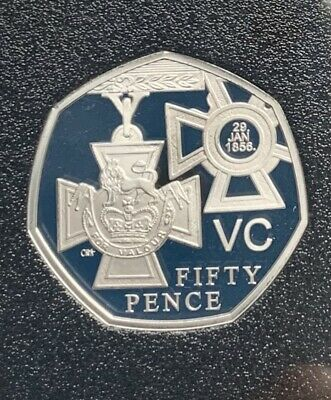 2019 VC Winners Medal BASE PROOF from 50 Years Of The 50p British Military Set