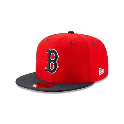Boston Red Sox New Era 2019 MLB Batting Practice 59FIFTY Fitted On Field