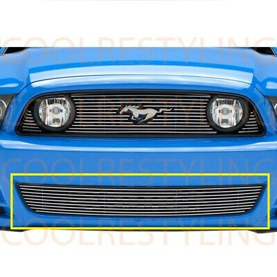 For Ford Mustang Gt 2013-2014 Bumper Billet Grille Insert Bolt on Grill