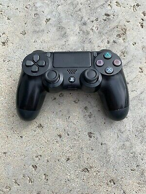 Sony DualShock 4 Wireless Controller for PlayStation 4 - Jet Black (10037) USED