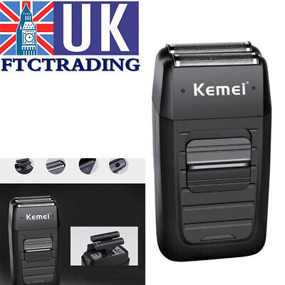 2019 NEW Comfort Electric Kemei Dual Foil Cordless Rechargeable  Shaver Series