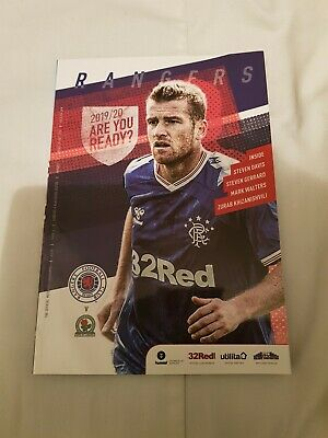 Rangers v Blackburn Rovers,  Pre Season Friendly, 21/7/2019
