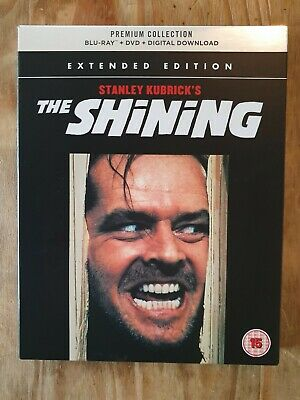 The Shining premium collection blu-ray and DVD plus booklet.