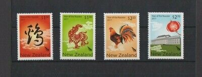 New Zealand 2017 Year of the Rooster MNH set per scan