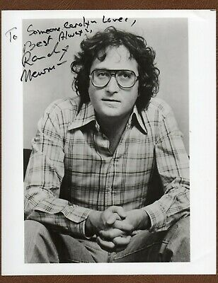 A Young RANDY NEWMAN Songwriter MUSICIAN Early SIGNED PHOTO Great Inscription