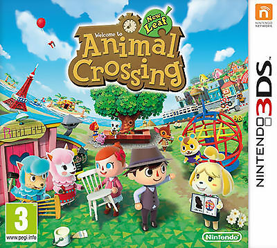 Animal Crossing: New Leaf for Nintendo 3DS 2013 (No box just cartride w/ case)