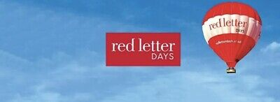 Red letter days Voucher £125 Valid Till oct 19