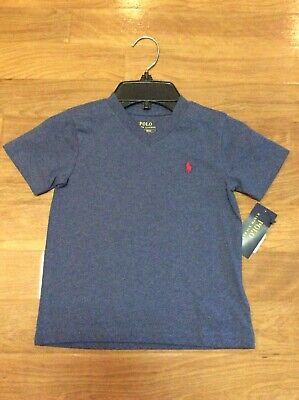 New With Tags Ralph Lauren Polo Tshirt Blue Little Boys Size 2T 24 Months