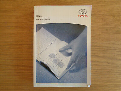 Toyota Hilux Owners Handbook//Manual and Wallet 11-15