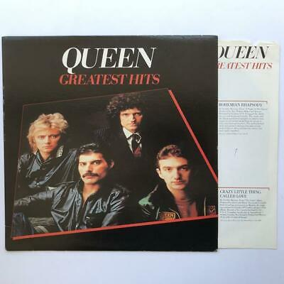 Queen Greatest Hits LP VG+/G Vintage Vinyl Has Many Light Scuffs