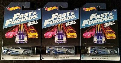 2017 HOT WHEELS Fast and Furious Variations ***Make your own bundle***
