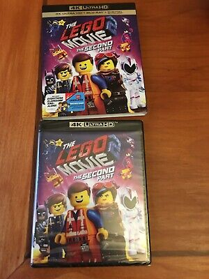 The Lego Movie 2 The Second Part (4K UltraHD BluRay Disc/Digital Copy, SEALED)