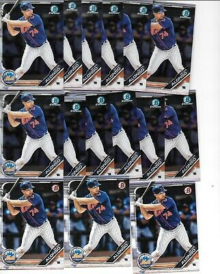 2019 Bowman Chrome Peter Pete Alonso RC Lot x15 New York Mets