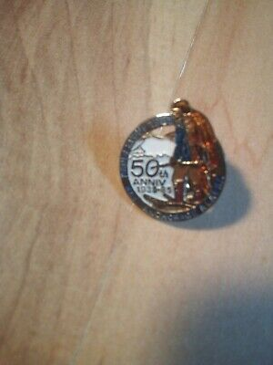 Vintage Anchorage Fur Rondevous 50th Anniversary Pin