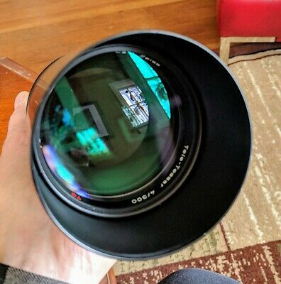 Carl Zeiss T* 300mm f4 MF lens CY Mount in ex+ condition.