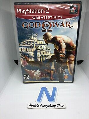 God of War Greatest Hits (Sony PlayStation 2, 2006) - BRAND NEW Sealed