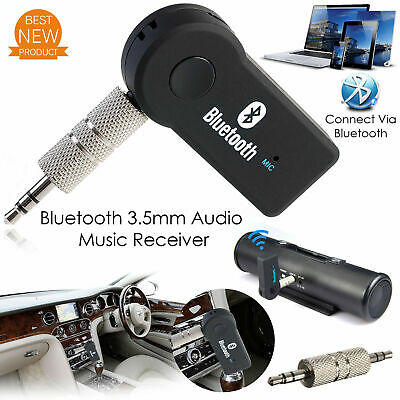 Wireless Bluetooth Receiver 3.5mm AUX Audio Stereo Music Home Car Adapter best