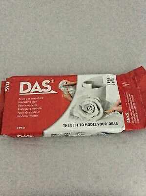 DAS Modelling Clay 3 x 1kg (3kg) White. New & Sealed