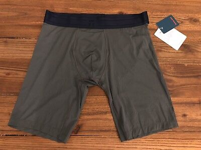 Tommy John Air Light Boxer Briefs Gray Navy Size Large New w/ Tags! Retail $48!