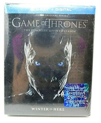 Game of Thrones The Complete Seventh Season (Blu-ray, 2017) - New - Sealed