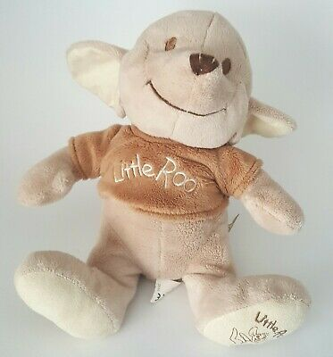 Disney Winnie The Pooh Little Roo Pull Chord Musical Plush Soft Toy Doll Lullaby