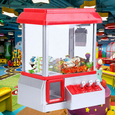 Carnival Style Candy Grabber Machine Candy Prize Game Arcade Joystick Machine