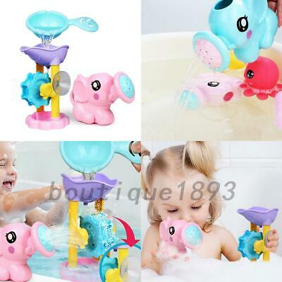 Children Kids Baby Swimming Bath Toys Cute Elephant Watering Pot Showering Gift