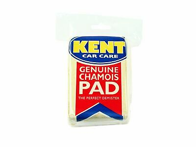 Kent Chamois Demister Pad High Absorbing Clean Interior Windows Valeting Sponge