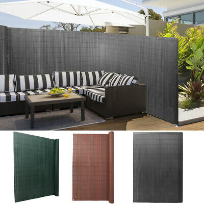 3M Privacy Fence PVC Double Sided Screening Fencing Screen Panel Balcony Garden