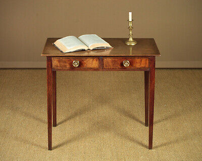 Antqie Georgian Mahogany Side Table c.1800.