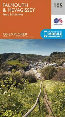 Falmouth and Mevagissey, Truro and St Mawes by Ordnance Survey 9780319243077