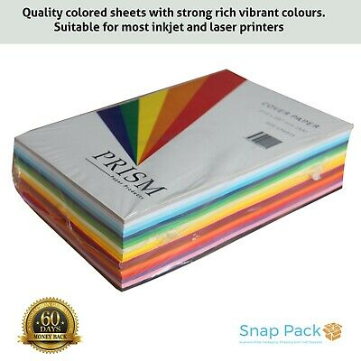 500 Sheets  x 150GSM A4 Coloured Card Cardboard Paper - Premium Quality Au Made
