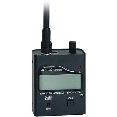 PROFESSIONAL PORTABLE SMARTPHONE WIFI FREQUENCY COUNTER 30mHz - 2800mHz / 2.8gHz