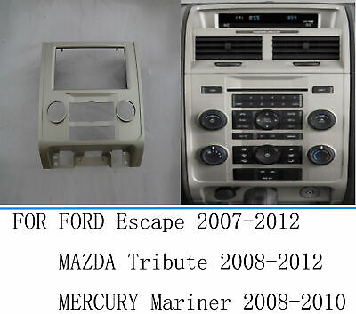 2008-2011 Mazda Tribute ASC Audio Car Stereo Radio Install Dash Kit 2008-2011 Mercury Mariner Wire Harness and Antenna Adapter to Add an Aftermarket Radio for 2008-2012 Ford Escape