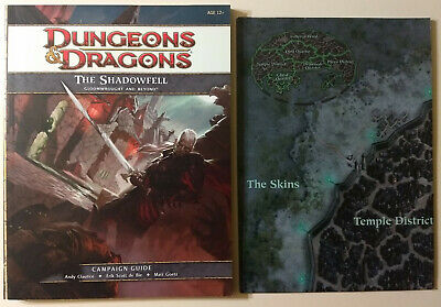 Dungeons and Dragons 4th Ed - The Shadowfell Gloomwrought & Beyond Campaign Book