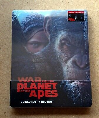 War For The Planet Of The Apes - Filmarena Fac #95 Lenticular Blu Ray Steelbook