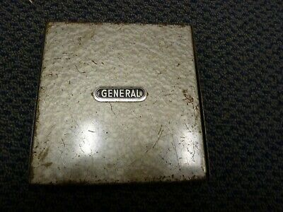 General Hardware Mfg. Co. Inc. No. 41 60 Slot Drill Index in Metal Box w/58 Bits